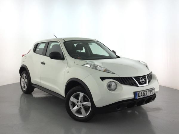 (2013) Nissan Juke 1.5 dCi Visia [Start Stop] - SUV 5 SEATS Ultra Low £20 Tax - Air Conditioning - 1 Owner - Nissan Dealer Service History