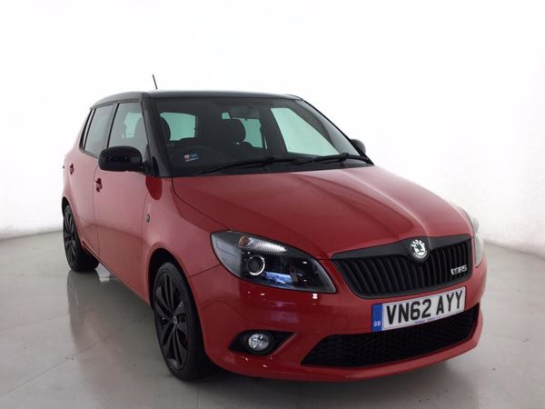 (2012) Skoda Fabia 1.4 TSI vRS 5dr DSG £1200 Of Extras - Aux MP3 Input - USB Connection - Cruise Control