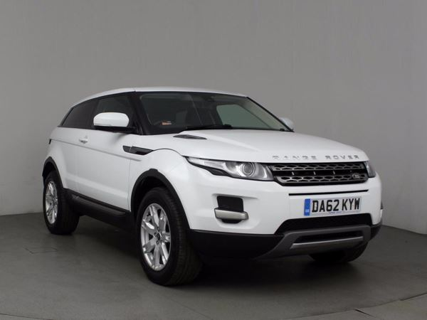 (2012) Land Rover Range Rover Evoque 2.2 SD4 Pure 3dr Auto - SUV 5 Seats Bluetooth Connection - Parking Sensors - DAB Radio - Aux MP3 Input