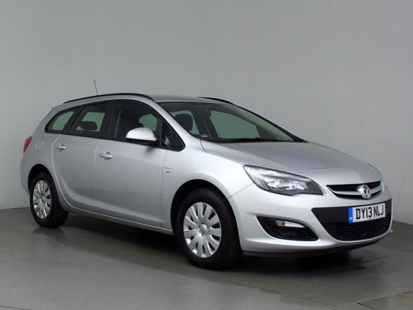 (2013) Vauxhall Astra 1.7 CDTi 16V ecoFLEX Exclusiv [125] 5dr Estate £30 Tax - Aux MP3 Input - Cruise Control - 6 Speed - Air Conditioning