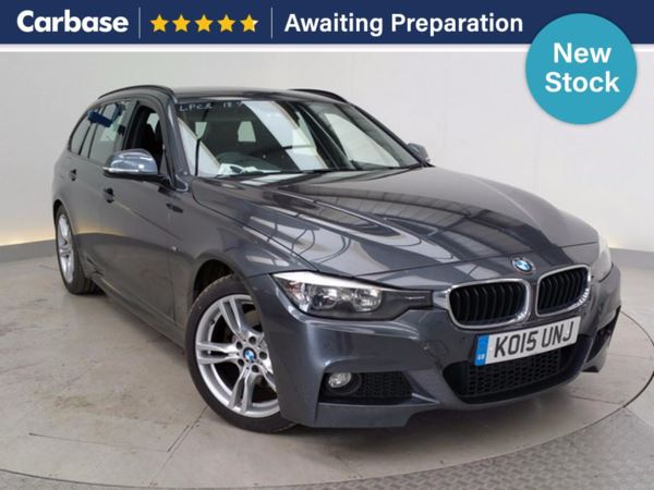 (2015) BMW 3 Series 325d M Sport 5dr Step Auto Touring £4535 Of Extras - Satellite Navigation - Luxurious Leather - Bluetooth