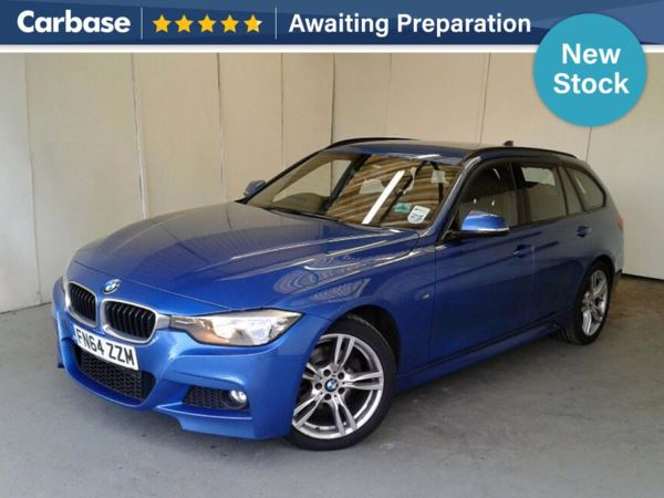 (2014) BMW 3 Series 320d M Sport 5dr Touring £1725 Of Extras - Bluetooth Connection - Parking Sensors - DAB Radio - Aux MP3 Input