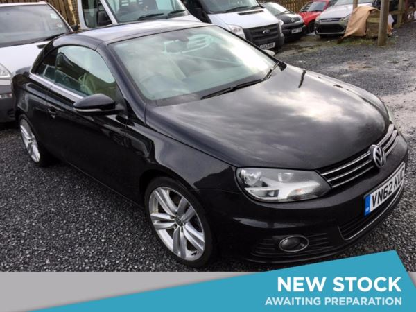 (2012) Volkswagen EOS 2.0 TDI BlueMotion Tech Sport 2dr Convertible £2015 Of Extras - Bluetooth Connection - Parking Sensors - DAB Radio