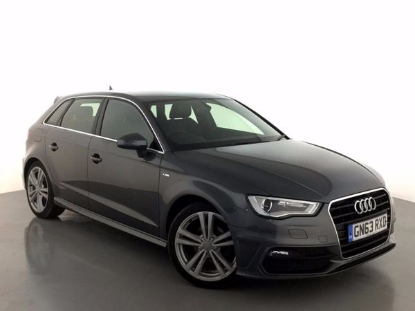 (2013) Audi A3 2.0 TDI S Line 5dr Bluetooth Connection - £20 Tax - DAB Radio - Xenon Headlights - 6 Speed
