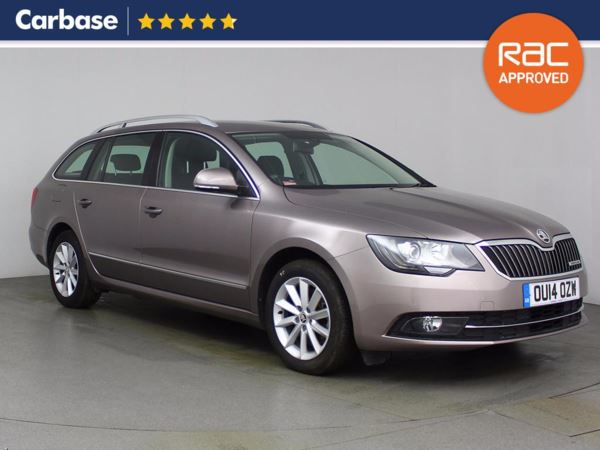 (2014) Skoda Superb 1.6 TDI CR Elegance GreenLine III 5dr Estate Satellite Navigation - Luxurious Leather - Bluetooth Connection - £30 Tax