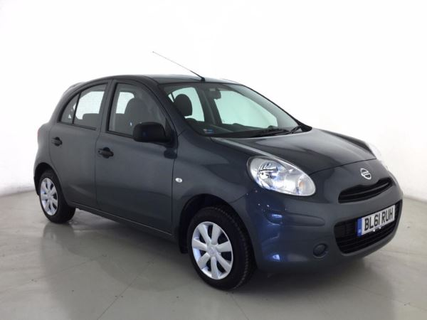 (2012) Nissan Micra 1.2 Visia 5dr CVT Bluetooth Connection - Aux MP3 Input - 1 Owner