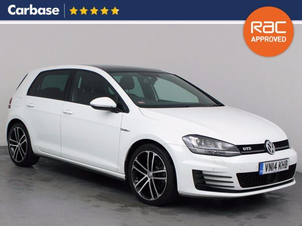 (2014) Volkswagen Golf 2.0 TDI GTD 5dr £920 Of Extras - Panoramic Roof - Bluetooth Connection - £20 Tax - Parking Sensors