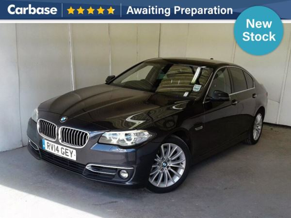 (2014) BMW 5 Series 520d Luxury 4dr Step Auto £2400 Of Extras - Satellite Navigation - Luxurious Leather - Bluetooth Connection - Parking Sensors