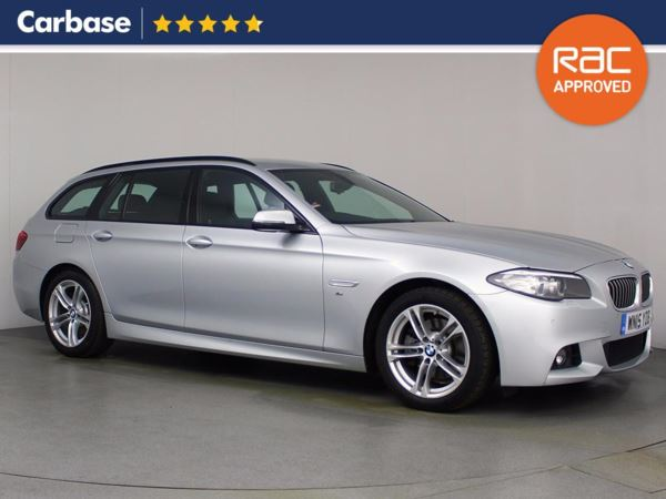 (2015) BMW 5 Series 520d [190] M Sport 5dr Step Auto Touring £2225 Of Extras - Satellite Navigation - Bluetooth Connection - Parking Sensors