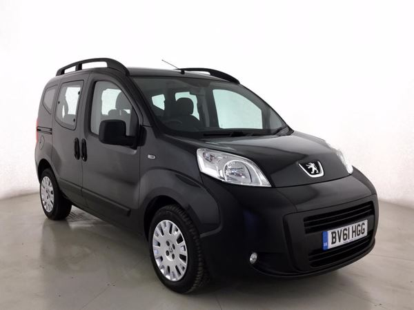 (2011) Peugeot Bipper Tepee 1.3 HDi 75 Outdoor 5dr - MPV 5 SEATS £30 Tax - Air Conditioning - 1 Owner
