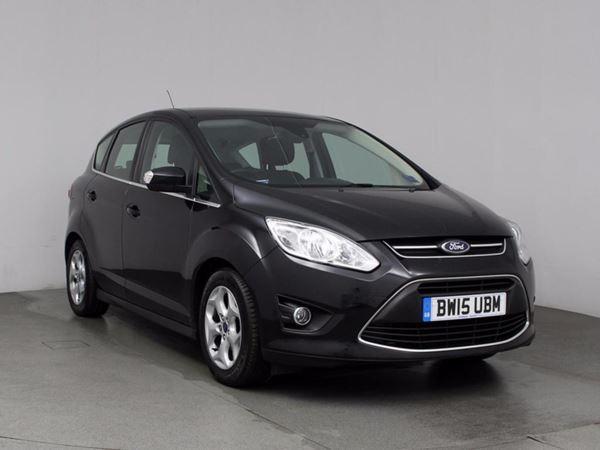 (2015) Ford C-MAX 1.6 TDCi Zetec 5dr - MPV 5 Seats Bluetooth Connection - £30 Tax - Parking Sensors - DAB Radio - Aux MP3 Input