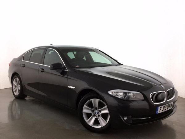 (2013) BMW 5 Series 520d BluePerformance EfficientDynamics 4dr £3630 Of Extras - Satellite Navigation - Luxurious Leather - Bluetooth Connectivity