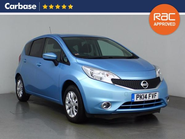 (2014) Nissan Note 1.2 Acenta 5dr - Mini MPV 5 Seats Bluetooth Connection - £20 Tax - USB Connection - Cruise Control