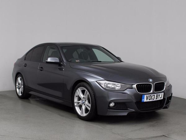 (2013) BMW 3 Series 318d M Sport 4dr £1220 Of Extras - Luxurious Leather - Bluetooth Connection - £30 Tax