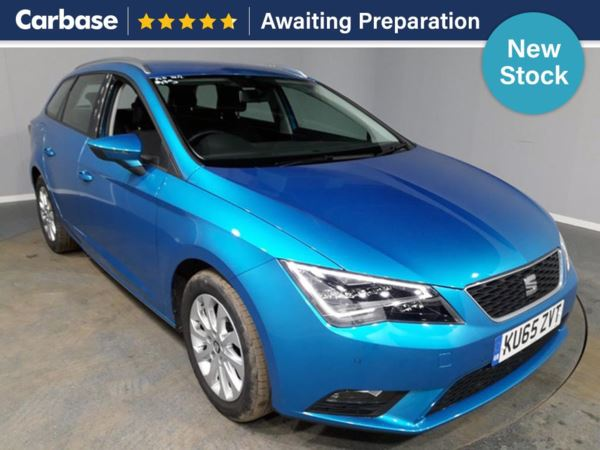 (2015) SEAT Leon 1.6 TDI 110 SE 5dr [Technology Pack] Estate Satellite Navigation - Bluetooth Connection - £20 Tax - Parking Sensors - DAB Radio - Aux MP3 Input