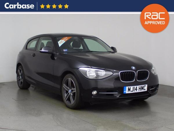 (2014) BMW 1 Series 120d Sport 3dr Bluetooth Connection - £30 Tax - DAB Radio - Aux MP3 Input - USB Connection