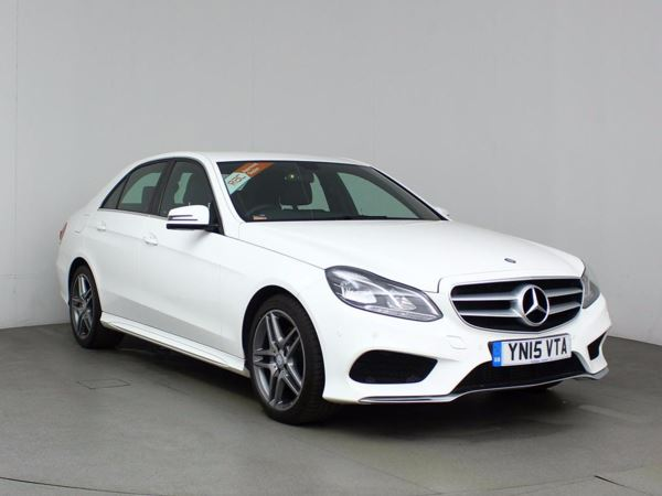 (2015) Mercedes-Benz E Class E300 BlueTEC Hybrid AMG Line Premium 4dr 7G-Tronic Satellite Navigation - Bluetooth Connection - £20 Tax - Parking Sensors