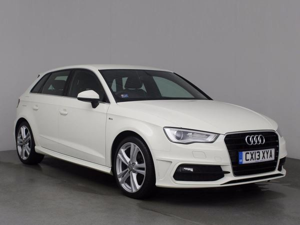 (2013) Audi A3 2.0 TDI S Line 5dr £1250 Of Extras - Satellite Navigation - Luxurious Leather - Bluetooth