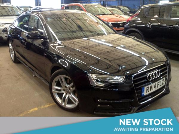 (2014) Audi A5 2.0 TDI 177 S Line [5 Seat] 5dr Sportback £1075 Of Extras - Luxurious Leather - Bluetooth Connection - £30 Tax