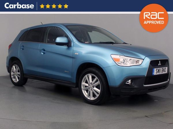 (2011) Mitsubishi Asx 1.8 4 ClearTec 5dr 4WD - SUV 5 Seats Satellite Navigation - Luxurious Leather - Bluetooth Connection - Parking Sensors