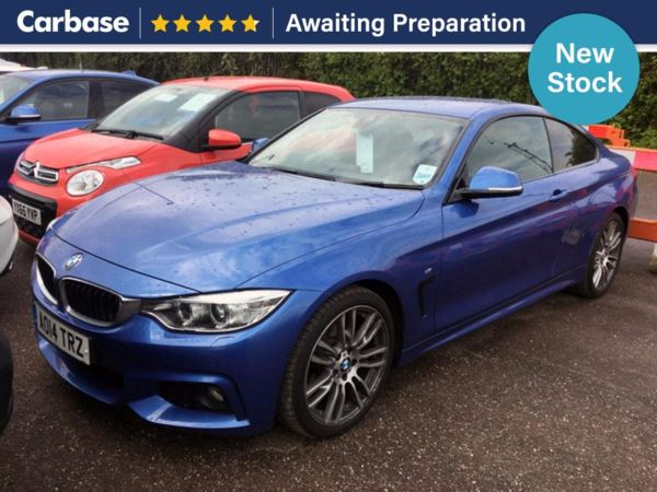 (2014) BMW 4 Series 420d M Sport 2dr Auto Coupe £5000 Of Extras - Satellite Navigation - Luxurious Leather - Bluetooth Connection