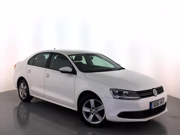 (2011) Volkswagen Jetta 1.6 TDI CR Bluemotion Tech SE 4dr Bluetooth Connection - £20 Tax - Aux MP3 Input - USB Connection - Air Conditioning