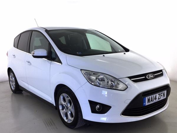 (2014) Ford C-MAX 1.6 TDCi Zetec 5dr - MPV 5 SEATS £1450 Of Extras - Bluetooth Connection - £30 Tax - Parking Sensors
