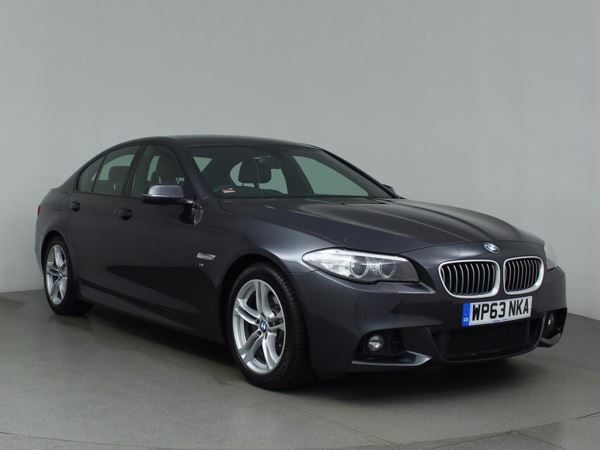 (2013) BMW 5 Series 520d M Sport 4dr Step Auto £2040 Of Extras - Satellite Navigation - Luxurious Leather - Bluetooth