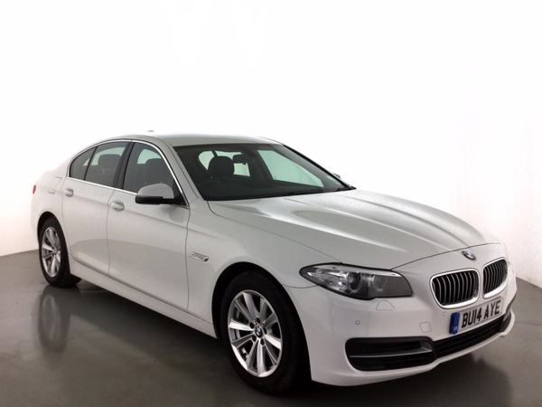(2014) BMW 5 Series 518d SE 4dr Step Auto £1550 Of Extras - Satellite Navigation - Bluetooth Connection - £30 Tax