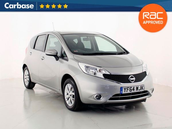 (2014) Nissan Note 1.2 Acenta 5dr - Mini MPV 5 Seats Bluetooth Connection - Aux MP3 Input - Cruise Control - 1 Owner - Air Conditioning - Alloys