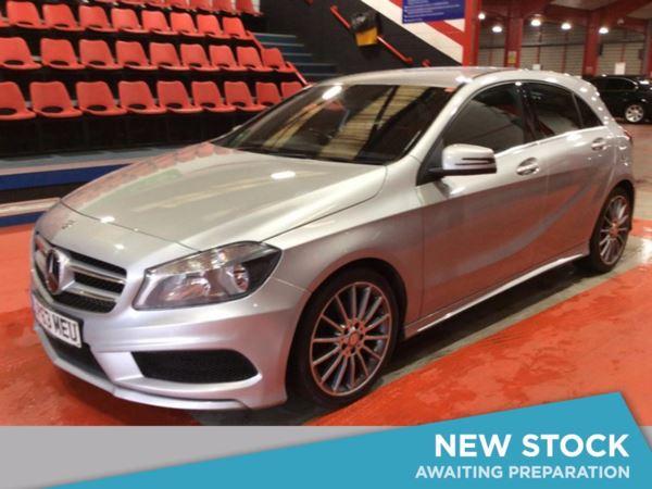 (2014) Mercedes-Benz A Class A200 CDI BlueEFFICIENCY AMG Sport 5dr Bluetooth Connection - Rain Sensor - Cruise Control - Air Conditioning