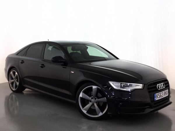 (2014) Audi A6 2.0 TDI Black Edition 4dr Multitronic £5575 Of Extras - Satellite Navigation - Luxurious Leather - Bluetooth Connectivity