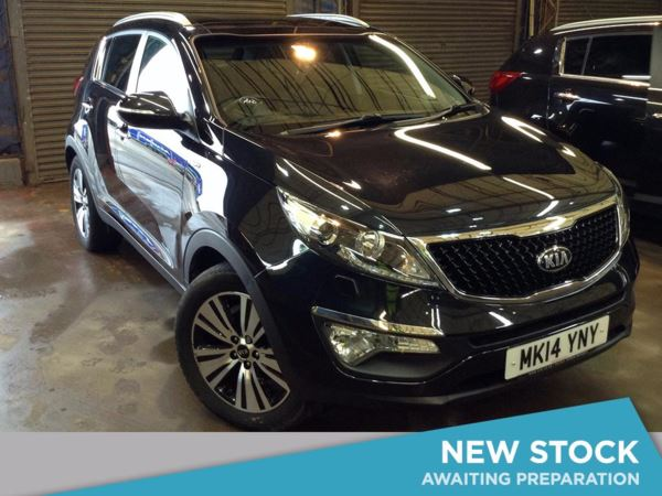 (2014) Kia Sportage 2.0 CRDi KX-3 5dr [Sat Nav] - SUV 5 Seats Panoramic Roof - Satellite Navigation - Bluetooth Connection - USB Connection