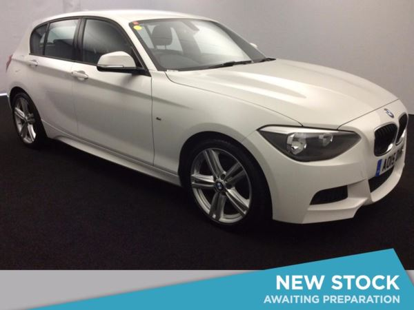 (2015) BMW 1 Series 125d M Sport 3dr Bluetooth Connection - Alcantara - DAB Radio - Aux MP3 Input