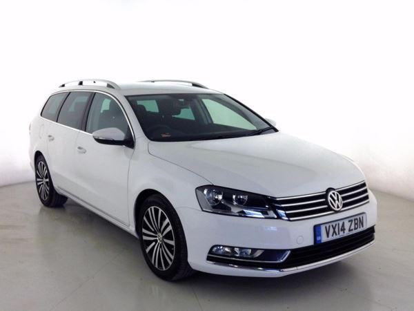 (2014) Volkswagen Passat 2.0 TDI Bluemotion Tech Sport 5dr Estate £730 Of Extras - Satellite Navigation - Bluetooth Connection - £30 Tax