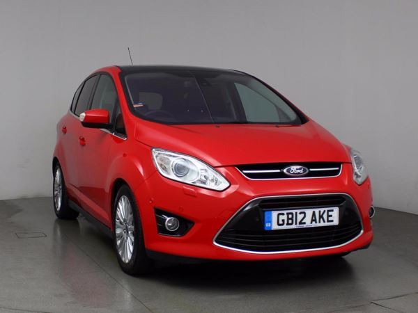 (2012) Ford C-MAX 2.0 TDCi Titanium 5dr Powershift Auto - MPV 5 Seats £4270 Of Extras - Panoramic Roof - Satellite Navigation - Luxurious Leather
