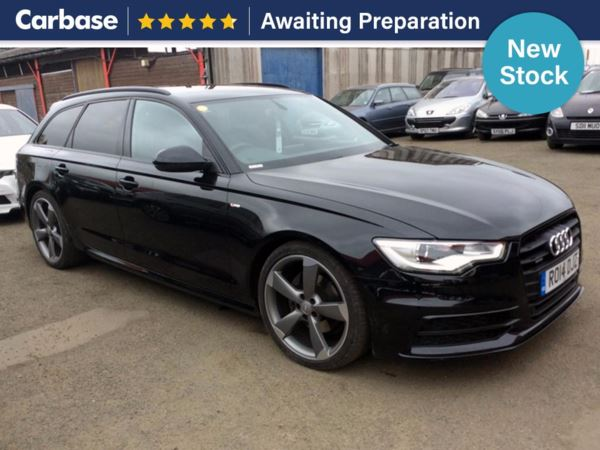 (2014) Audi A6 3.0 TDI [204] Quattro Black Edition 5dr S Tronic Auto Avant £655 Of Extras - Satellite Navigation - Luxurious Leather - Bluetooth Connectivity