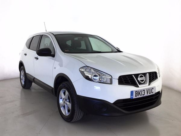 (2013) Nissan Qashqai+2 1.6 [117] Visia 5dr - SUV 7 Seats Bluetooth Connection - Aux MP3 Input - Air Conditioning - 1 Owner