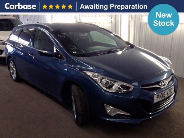 (2015) Hyundai i40 1.7 CRDi [115] Blue Drive Style 5dr Estate Satellite Navigation - Bluetooth Connection - £30 Tax - Parking Sensors