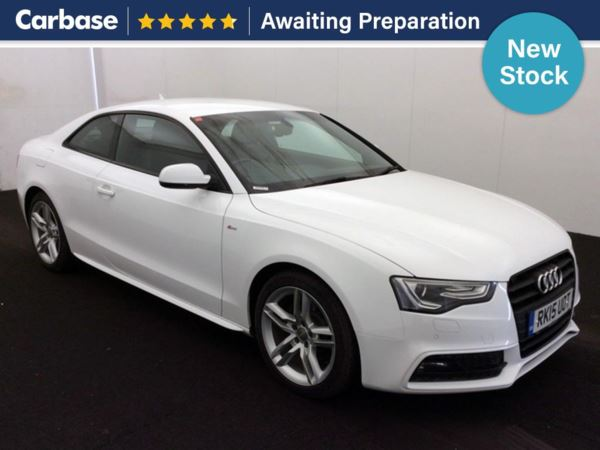(2015) Audi A5 2.0 TDI 177 S Line 2dr Satellite Navigation - Luxurious Leather - Bluetooth Connection - Parking Sensors