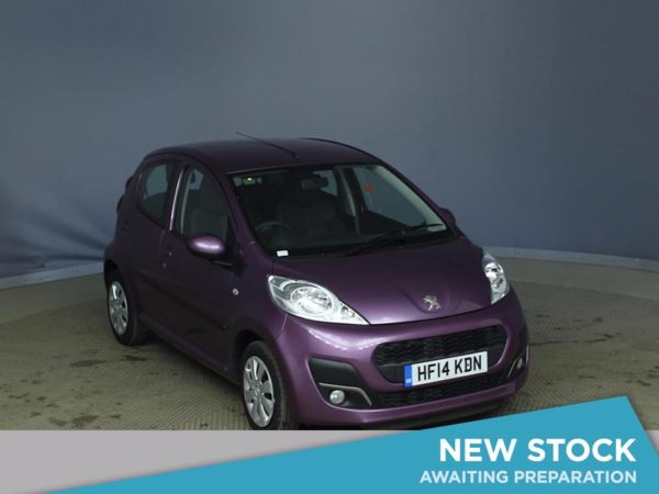 (2014) Peugeot 107 1.0 Active 5dr Zero Tax - Aux MP3 Input - Air Conditioning - 1 Owner
