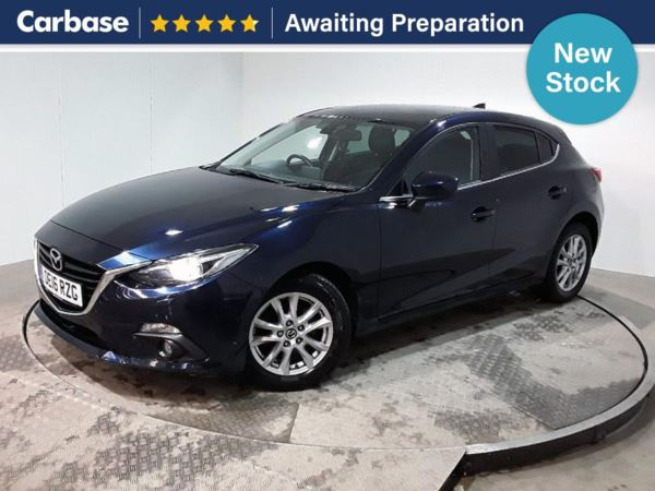 (2016) Mazda 3 1.5d SE-L Nav 5dr Auto Satellite Navigation - Bluetooth Connection - £30 Tax - Parking Sensors - Cruise Control - 1 Owner