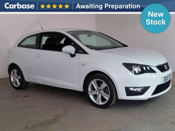 (2015) SEAT Ibiza 1.6 TDI CR FR 3dr Bluetooth Connection - Aux MP3 Input - Cruise Control - 1 Owner - Air Conditioning - Alloys