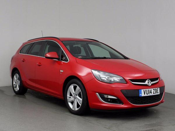 (2014) Vauxhall Astra 1.7 CDTi 16V ecoFLEX SRi [130] 5dr [Start Stop] Bluetooth Connection - £20 Tax - Aux MP3 Input - Cruise Control - 6 Speed