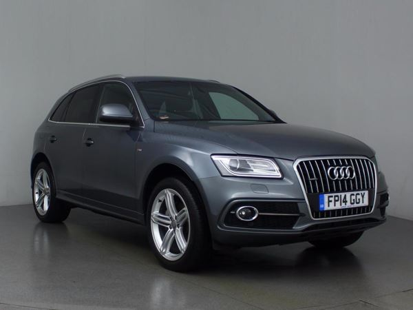 (2014) Audi Q5 2.0 TDI Quattro S Line 5dr S Tronic - SUV 5 Seats Satellite Navigation - Bluetooth Connection - Parking Sensors - DAB Radio