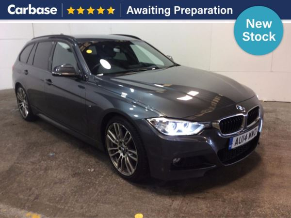(2014) BMW 3 Series 320d M Sport Step Auto 5dr Touring £5320 Of Extras - Satellite Navigation - Luxurious Leather - Bluetooth Connection
