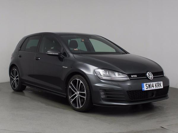 (2014) Volkswagen Golf 2.0 TDI GTD 5dr DSG Auto £1285 Of Extras - Satellite Navigation - Bluetooth Connection - Parking Sensors