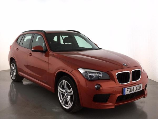 (2014) BMW X1 sDrive 20d M Sport 5dr £1375 Of Extras - Satellite Navigation - Luxurious Leather - Bluetooth