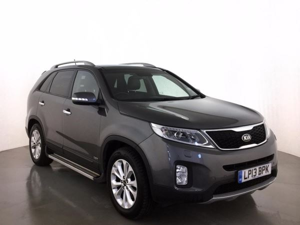 (2013) Kia Sorento 2.2 CRDi KX-3 5dr Auto - SUV 7 Seats Panoramic Roof - Satellite Navigation - Luxurious Leather - Bluetooth Connection