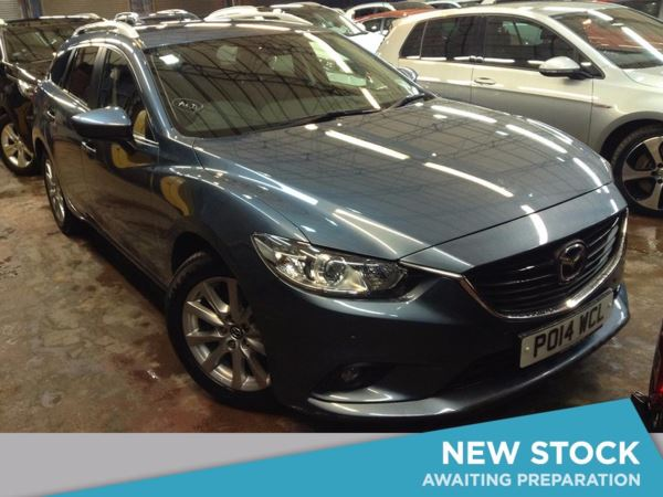 (2014) Mazda 6 2.2d SE-L Nav 5dr Bluetooth Connection - £20 Tax - Parking Sensors - Aux MP3 Input
